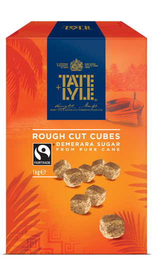 Demerara Rough Cut Sugar Cubes